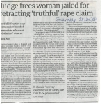 Judge frees woman