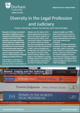 Diversity in the Legal Profession and Judiciary