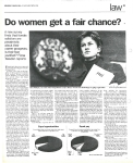 do women get a fair chance