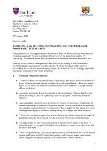 SofS Gauke Upskirting Reform Letter 10 Jan 2018-page-001